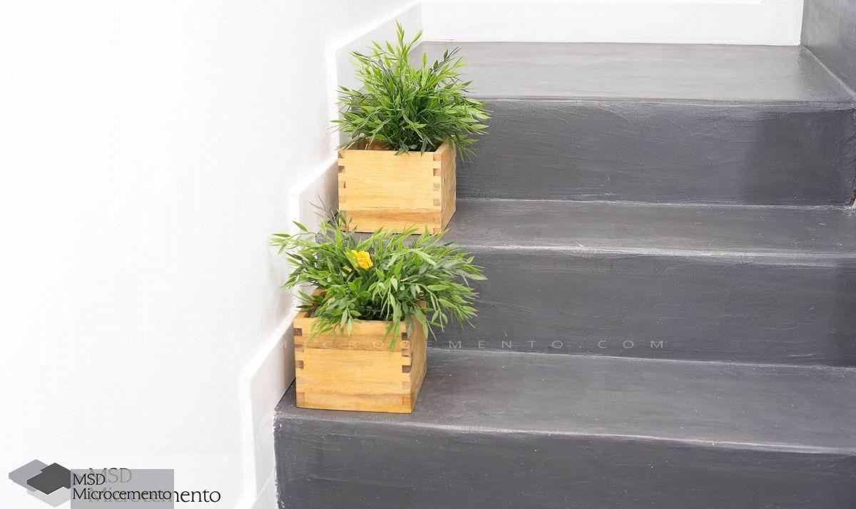 Suelos y paredes de microcemento sin obra - Microcemento para paredes ...