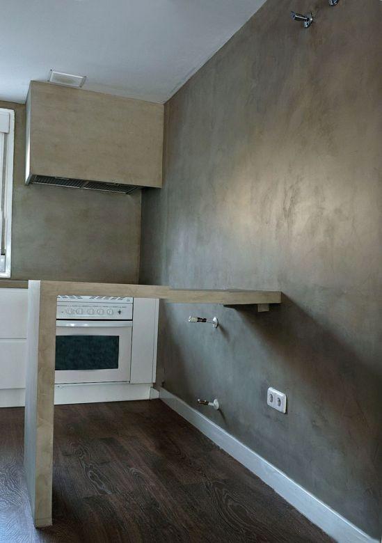 Muebles en microcemento - Microcemento para paredes ...
