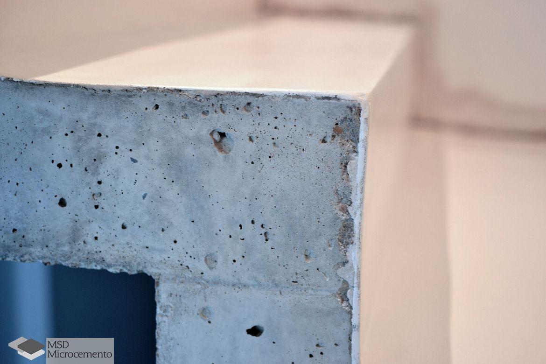 Microcemento blanco sobre cemento c mo lo aplicamos - Microcemento que es ...