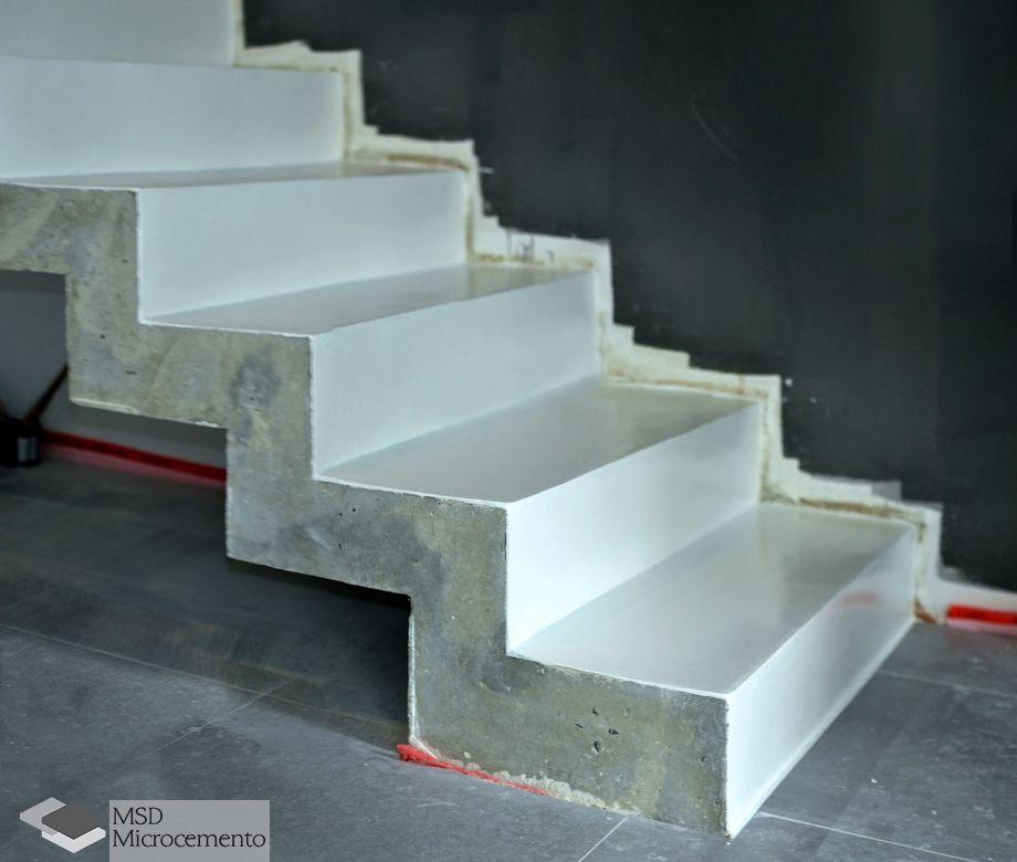 Microcemento blanco sobre cemento c mo lo aplicamos - Aplicacion de microcemento en paredes ...